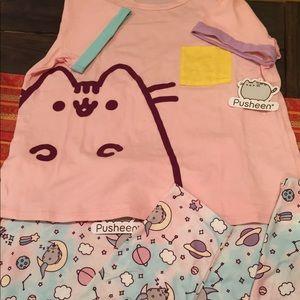 NWT Pusheen Pajama set